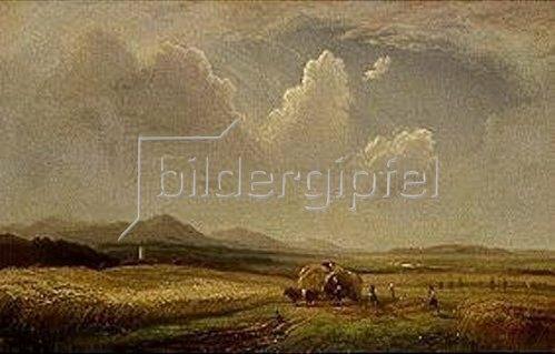Amalie Manesova: Erntezeit. Um 1856.
