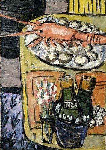 Max Beckmann: Hummerstilleben. 1941