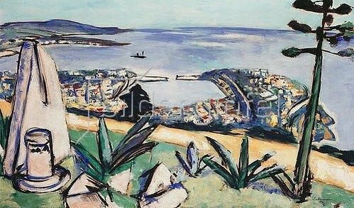 Max Beckmann: Monte Carlo (Südliche Hafenstadt). 1936