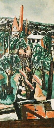 Max Beckmann: Neubau. 1928