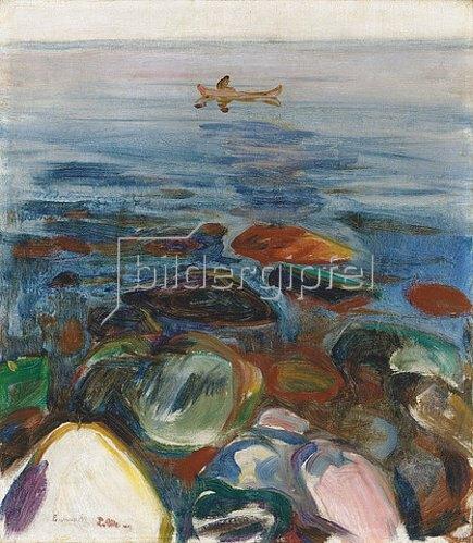 Edvard Munch: Robat pa sjøen. 1904