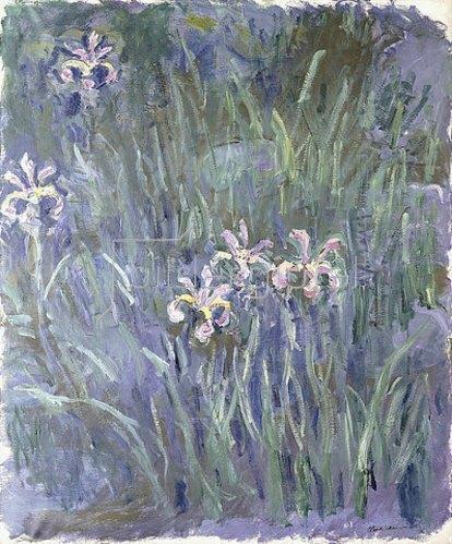 Claude Monet: Schwertlilien. Um 1914-17