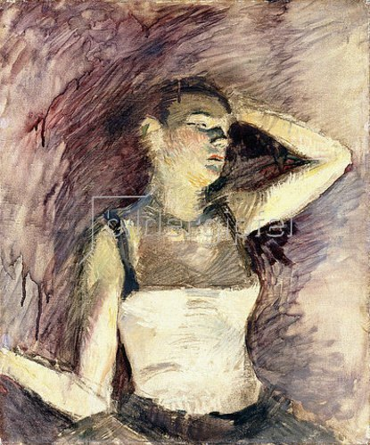 Henri de Toulouse-Lautrec: Studie einer Tänzerin (Etude de Danseuse). 1888