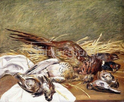 Auguste Renoir: Fasane, Trappe und Drosseln (Faisans, Canepetiere et Grives). 1902