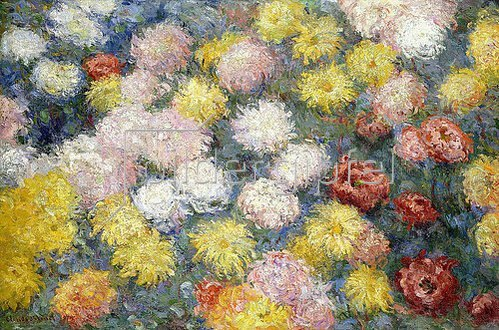 Claude Monet: Chrysanthemen (Chrysanthèmes). 1897