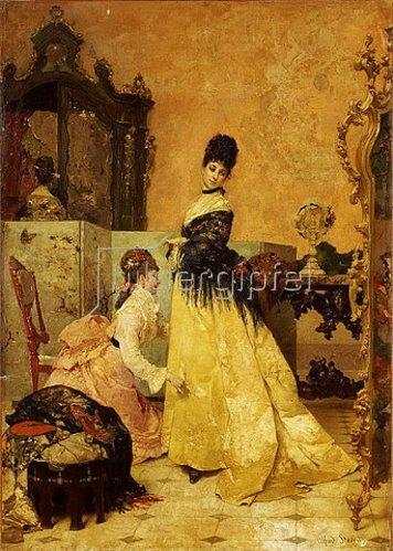Alfred Stevens: Das neue Kleid.