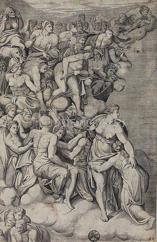 Niccolo della Casa: Selige. (nach Michelangelo)