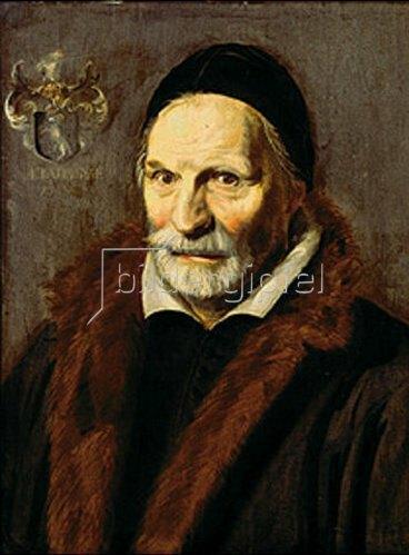 Frans Hals: Bildnis des Jacobus Zaffius. 1611.
