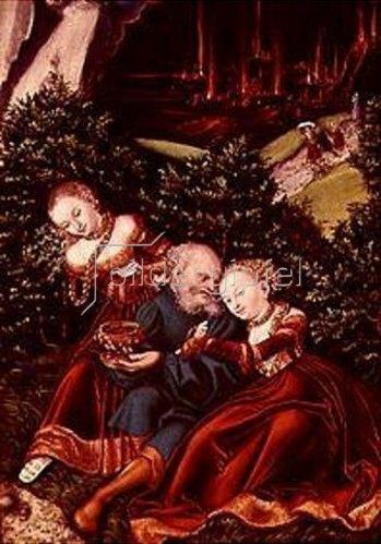 Lucas Cranach d.Ä.: Lot und seine Töchter. 1528