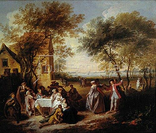 Pierre Antoine Quillard: Ländliches Fest.