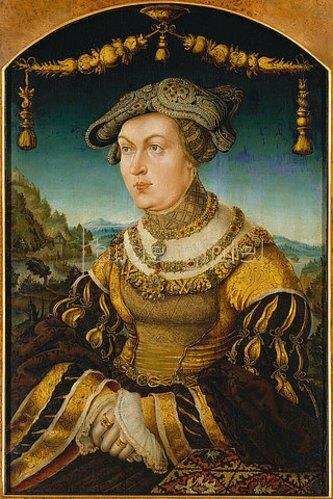 Hans Wertinger: Maria Jacobaea von Baden, Herzogin von Bayern.