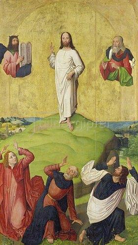 Meister der hl.Sippe: Die Verklärung Christi.