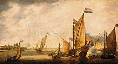 Bonaventura Peeters I.: Seehafen.