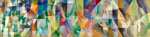 Robert Delaunay: Die Fenster zur Stadt 1912