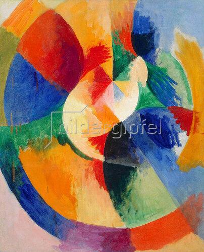 Robert Delaunay: Kreisformen, Sonne. 1912/13