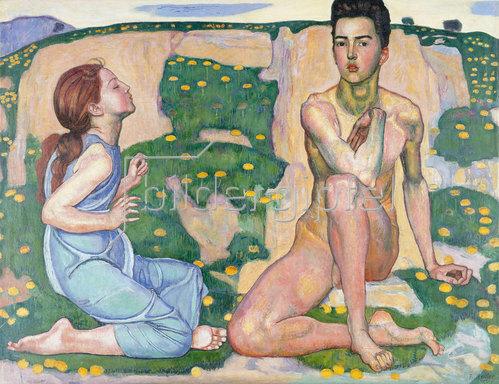 Ferdinand Hodler: Der Frühling. 1901