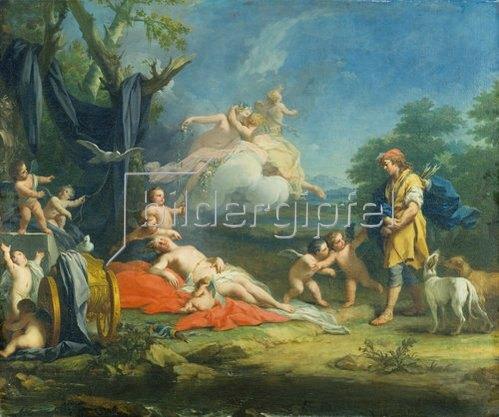 Jacopo Amigoni: Venus und Adonis.