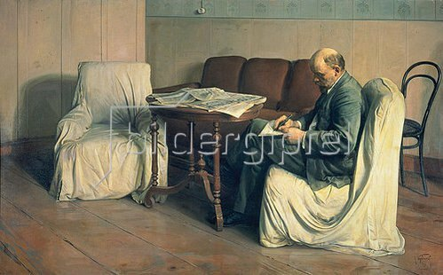 Isaak Brodskij: Lenin im Smolny. 1930.