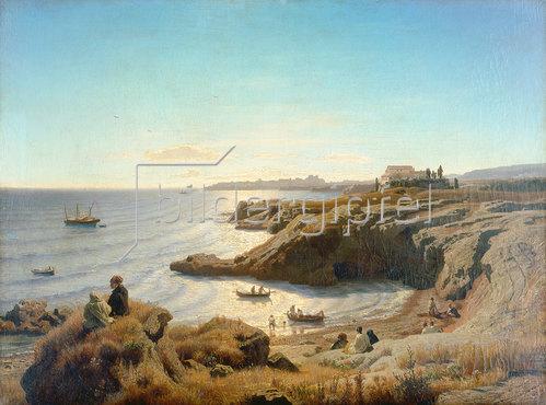 Andreas Achenbach: Küste bei Syrakus 1861