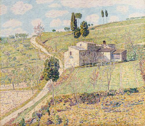 Paul Baum: Frühling in der Toskana 1912-14