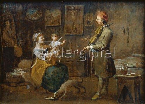 Norbert Grund: Die Familie des Malers. 1752/54.