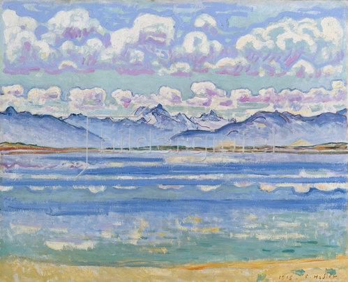 Ferdinand Hodler: Weisshorn, von Montana aus gesehen. 1915