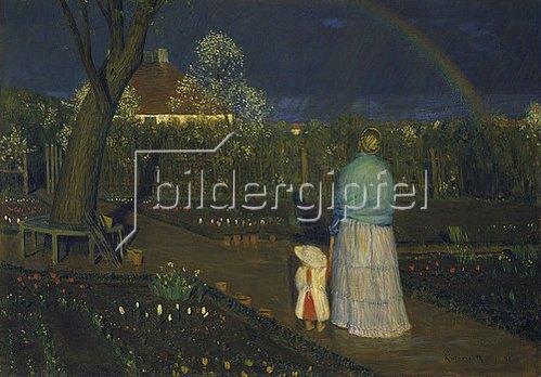 Leopold Graf von Kalckreuth: Der Regenbogen. 1896