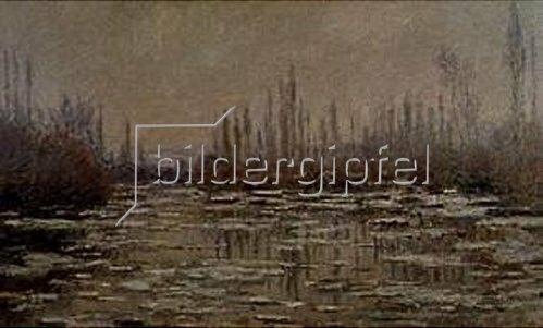 Claude Monet: La Débacle. 1881.