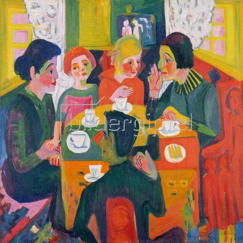 Ernst Ludwig Kirchner: Kaffeetisch. 1923/24