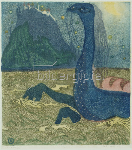 Wassily Kandinsky: Mondnacht. 1907