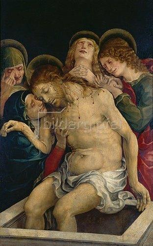 Liberale da Verona: Beweinung Christi.