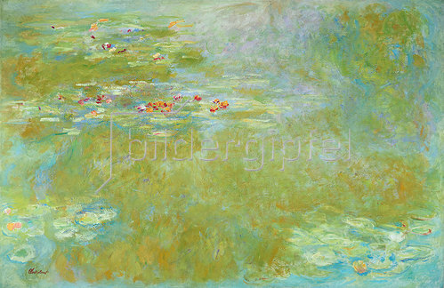 Claude Monet: Der Seerosenteich