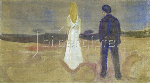 Edvard Munch: Zwei Menschen. Die Einsamen (Der Reinhardt-Fries)