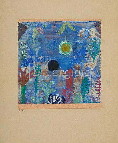 Paul Klee: Versunkene Landschaft. 1918
