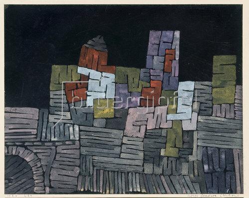 Paul Klee: Altes Gemäuer. Sizilien.