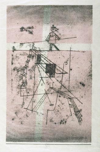 Paul Klee: Der Seiltänzer. 1923