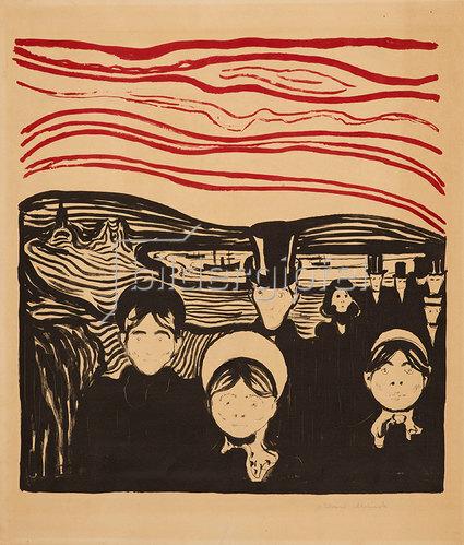 Edvard Munch: Angst 1896
