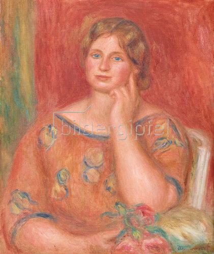 Auguste Renoir: Bildnis Gertrud Osthaus. 1913