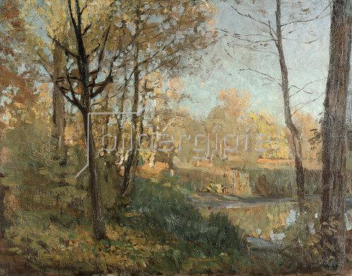 Reiniger Otto: Herbst am Tachensee