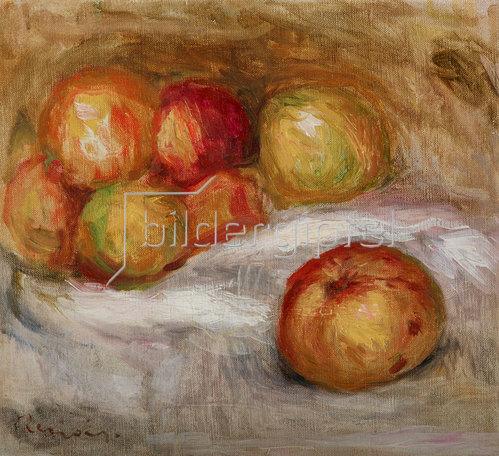 Auguste Renoir: Stillleben mit Äpfel. Um 1910