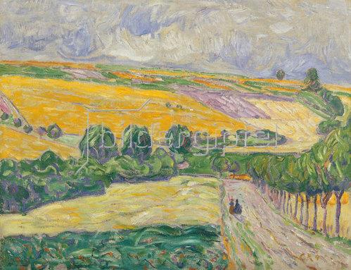 Christian Rohlfs: Landschaft bei Oberweimar. 1904