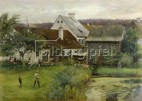 Ernst te Peerdt: Deutsche Landschaft