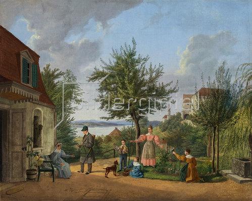 Lorenzo Quaglio d.J.: Am Starnberger See 1832