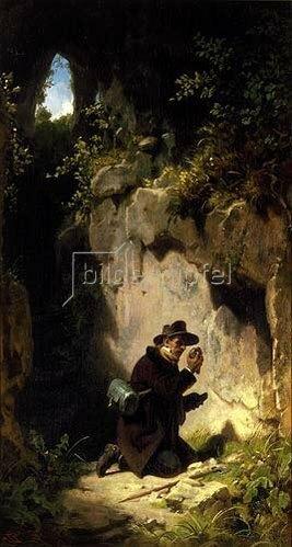 Carl Spitzweg: Der Mineraloge. Um 1860