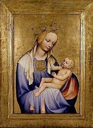 Meister des Altars von Wittingau: Madonna Roudnicka.