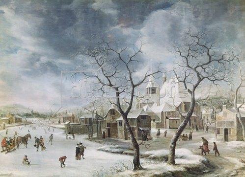 Jan Beerstraten: Winterlandschaft.