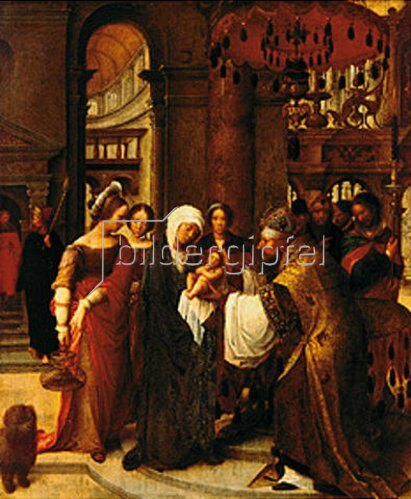 Adriaen Isenbrant: Darstellung Christi im Tempel.