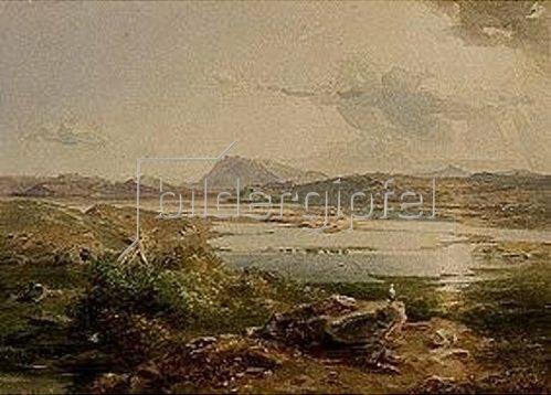 Carl Rottmann: Kopais-See. Um 1836.