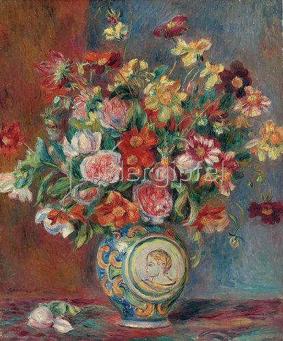 Auguste Renoir: Blumenvase (Vase de fleurs). 1881