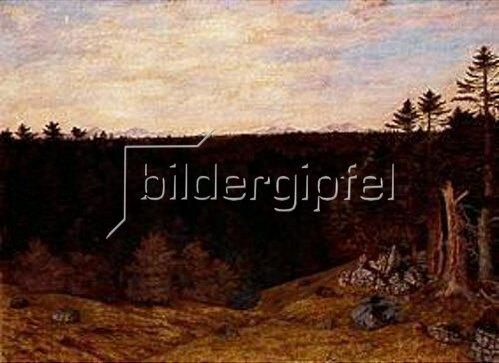 Karl Haider: Über allen Gipfeln ist Ruh'. 1886.